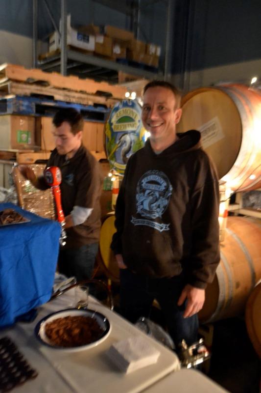 Matt Lincecum poured for Fremont Brewing