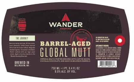 wander brewing global mutt