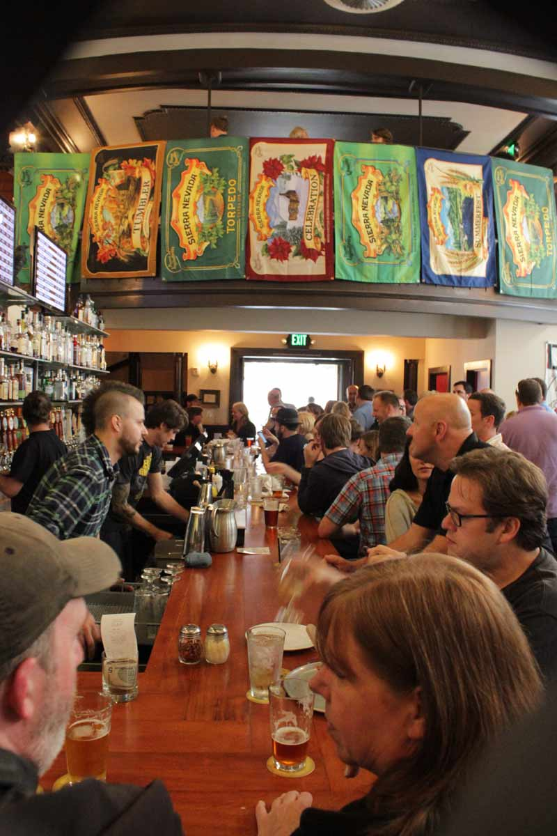 Opening day at The Pine Box, four years ago.