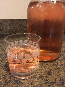 Sound Craft Rose Seltzer. Real fruit, real color.