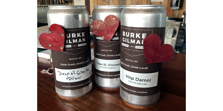 burke-gilman brewing paying it forward to local healthcare workers with beer.