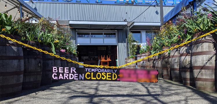 Fremont Brewing Urban Beer Garden