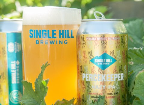 single hill brewery, peacekeeper IPA.
