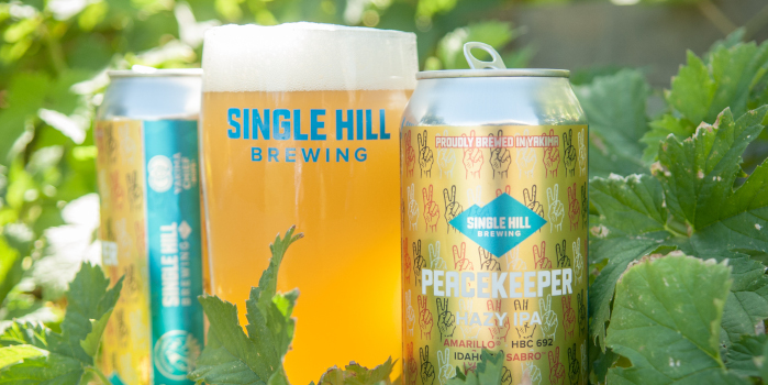 single hill brewery, peacekeeper IPA.
