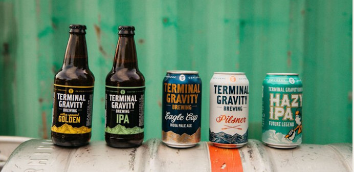 terminal gravity brewing beer selection