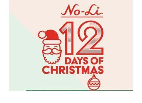 no-li brewhouse presents 12 days of Christmas.