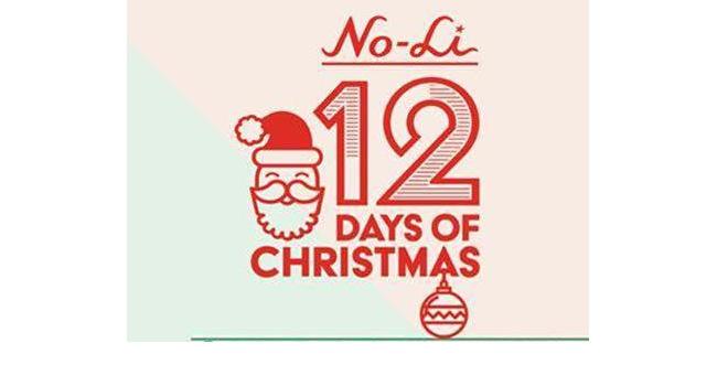 no-li brewhouse presents 12 days of Christmas.