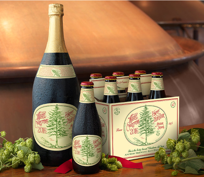 Winter beers: Anchor Brewing Christmas Ale
