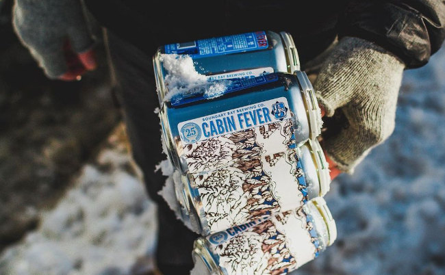Winter beers: Cabin Fever from Boundary Bay Brewery.