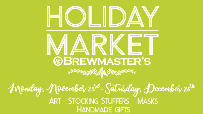 holiday market at local taprooms