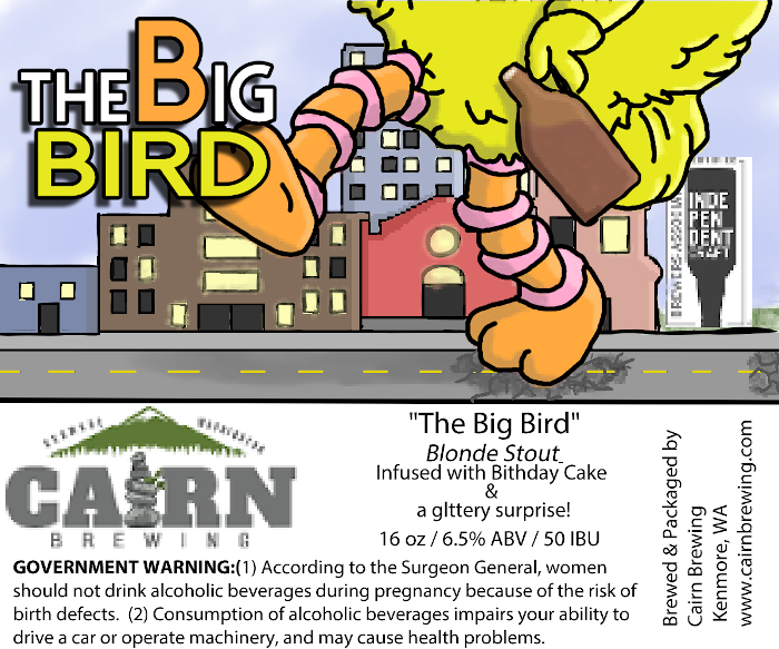the big bird by cairn brewing