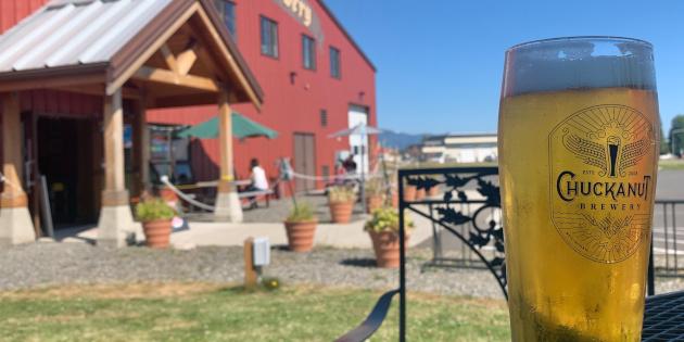 chuckanut brewery outdoor seating
