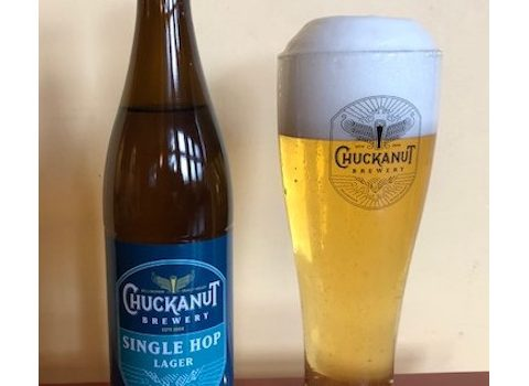 chuckanut brewery single hop sultana lager