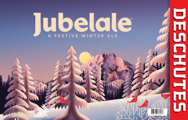 Winter beers: deschutes brewery, jubelale.
