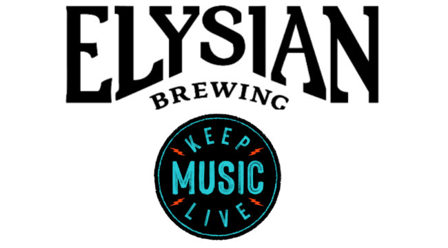 elysian brewing and keep music live team up to support live music.