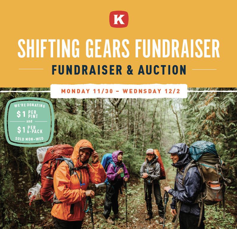 kulshan brewing shifting gears fundraiser.