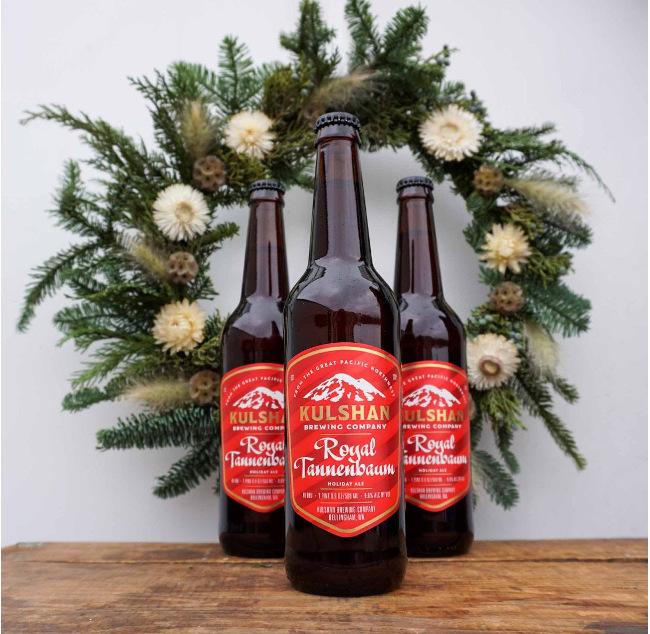 kulshan brewing winter beer Royal Tannenbaum.