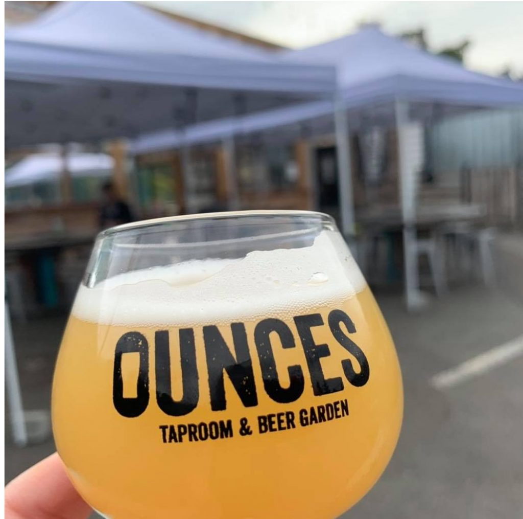Ounces taproom and beer garden