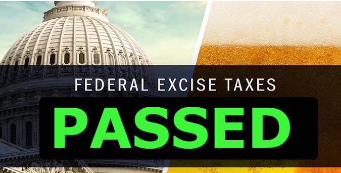 beer tax rate reduction has passed
