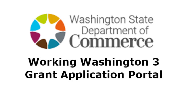 Washington Department of Commerce grants
