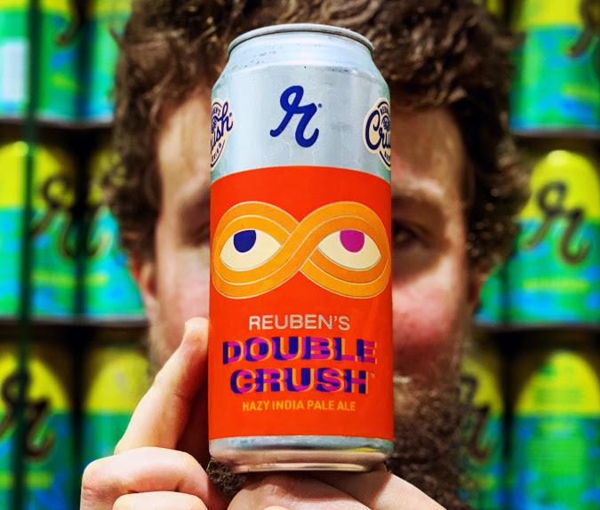 reuben's brews double crush IPA.