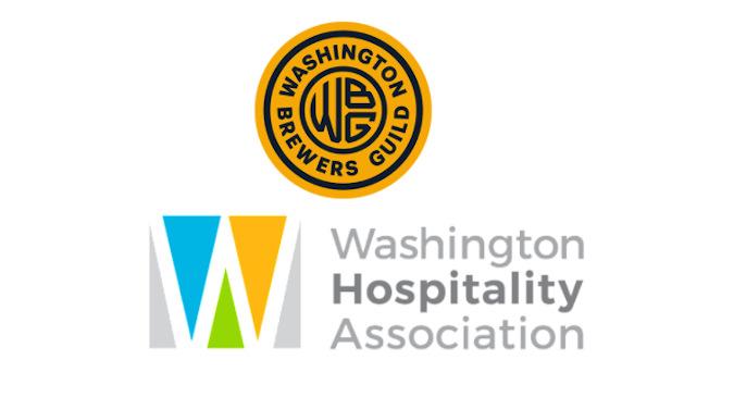 washington brewers guild and Washington hospitality assoiation.