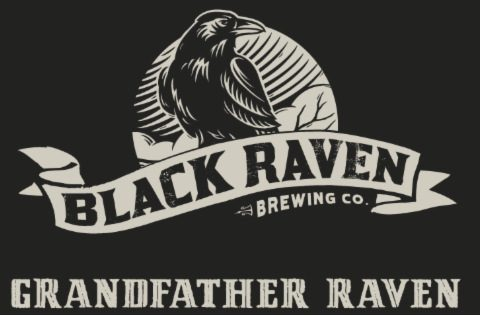 Grandfather Raven Imperial Stout, Black Raven Brewing.