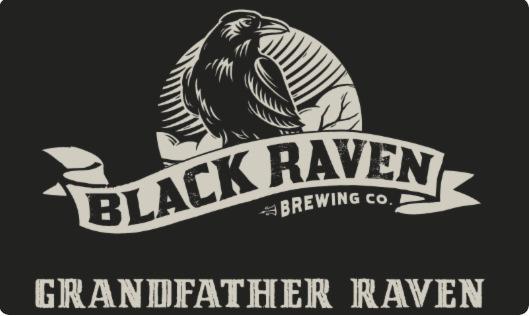 Grandfather Raven Imperial Stout, Black Raven Brewing.