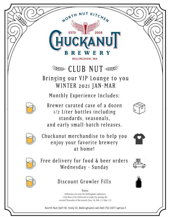 chuckanut brewery club nut details