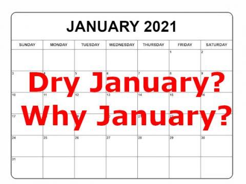 dry january graphic