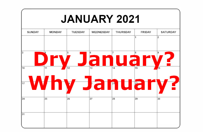 dry january graphic