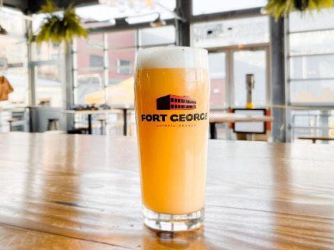 fort george brewery 3-way ipa, beta versions of the 2021 beer.