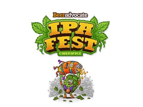 Logo for IPA Fest in Cyberspace.
