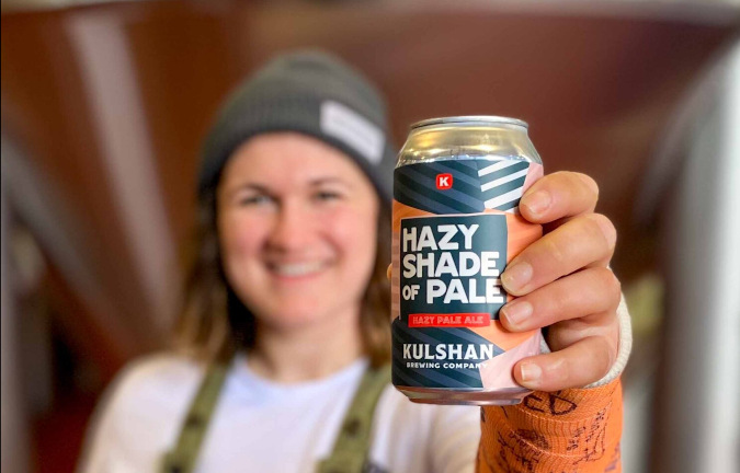 A can of Hazy Shade of Pale by Kulshan Brewing