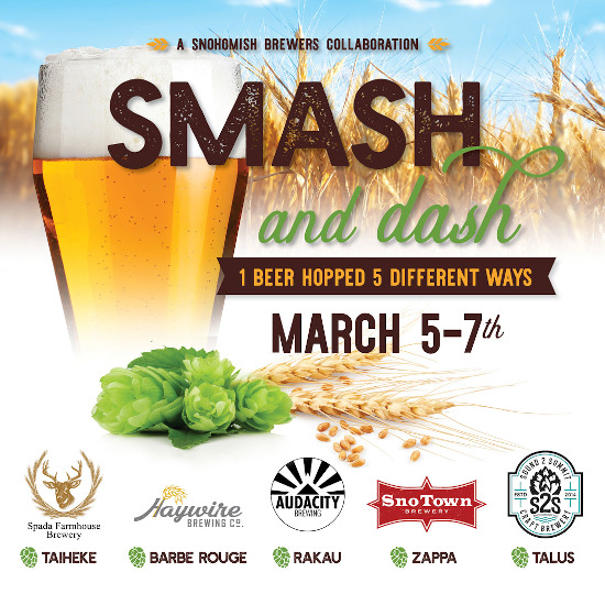 Snohomish Smash and Dash poster