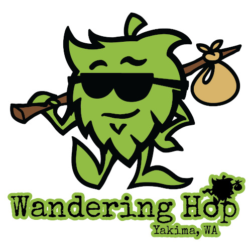 Wandering Hop Brewery - the logo.