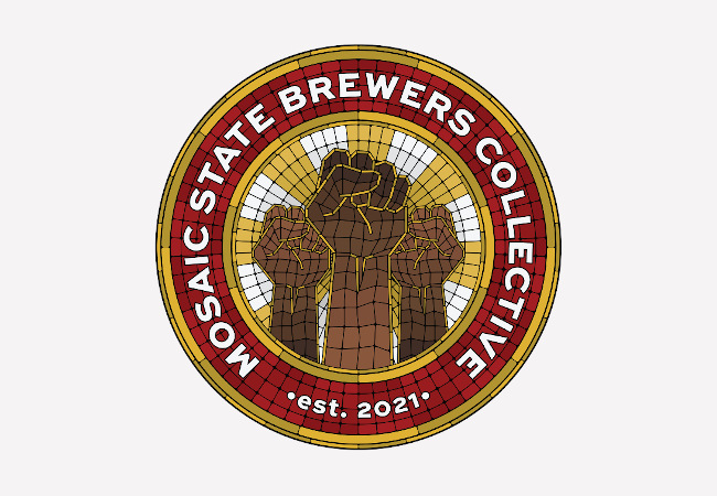 mosaic state brewers collective logo.