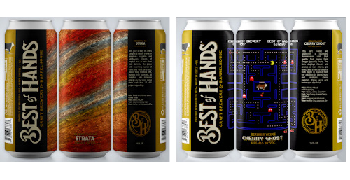 new cans from best of hands brewing.