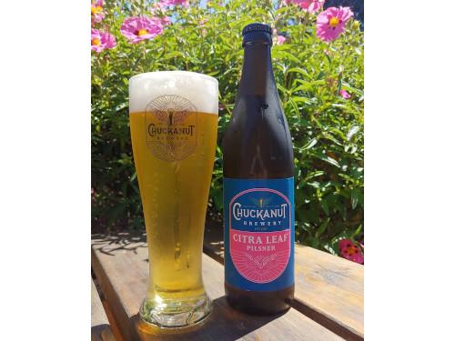 Chuckanut Brewery Citra Pilsner bottle