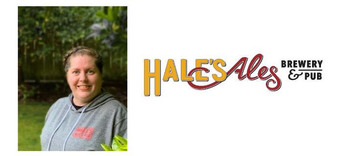 Allison Ringe, sales manager at Hale's Ales.