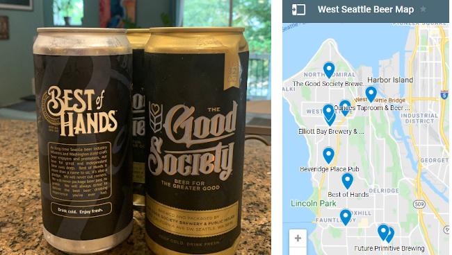 West Seattle beer scene