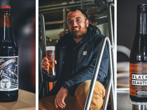 buoy beer company's new head brewer, Paul Anderson.