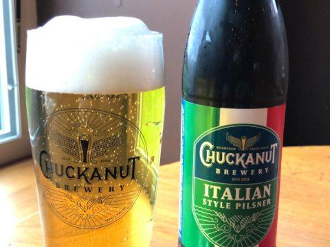chuckanut brewery italian pilsner