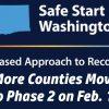 Washington Safe Start logo, phase 2