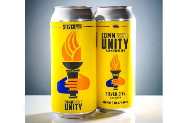 Silver City Brewery - Cans of Community Unity IPA