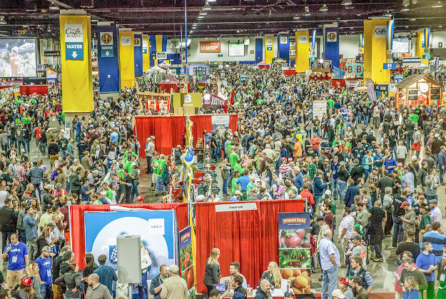Photo of the crowd at the GABF.