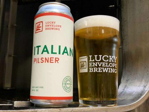 Lucky Envelope Brewing, Italian Pilsner